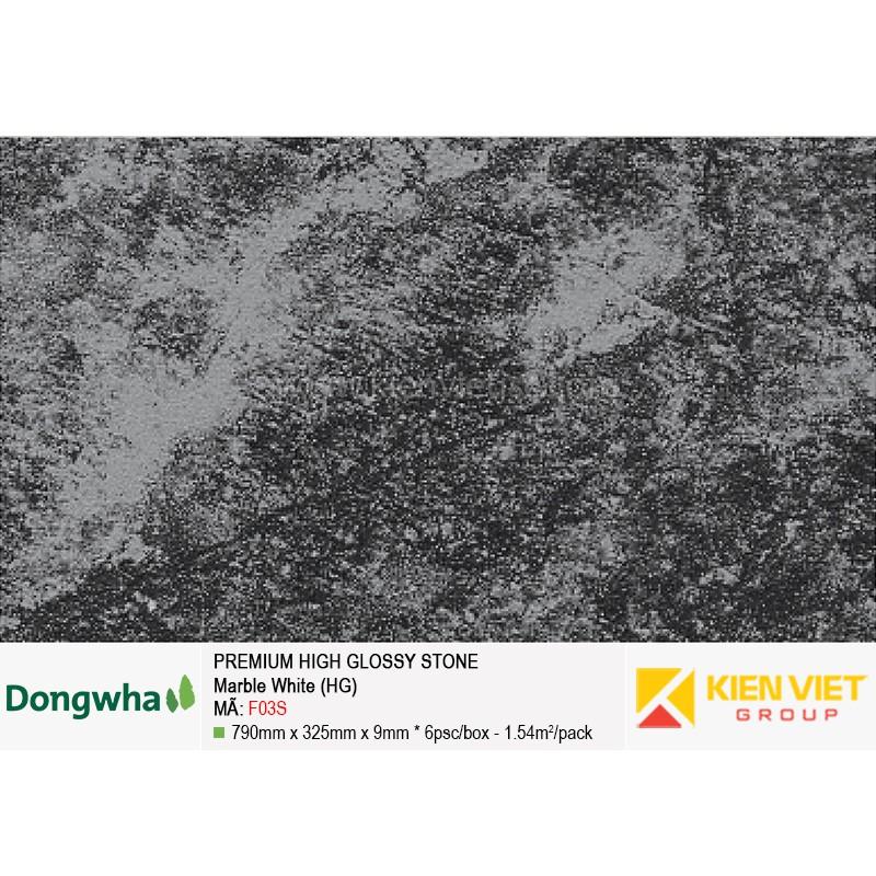 Tấm ốp tường HDF DONGWHA premium high glossy F03S