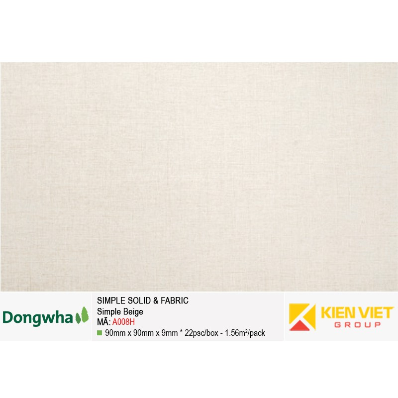 Tấm ốp tường HDF DONGWHA Simple Solid & Fabric A008H