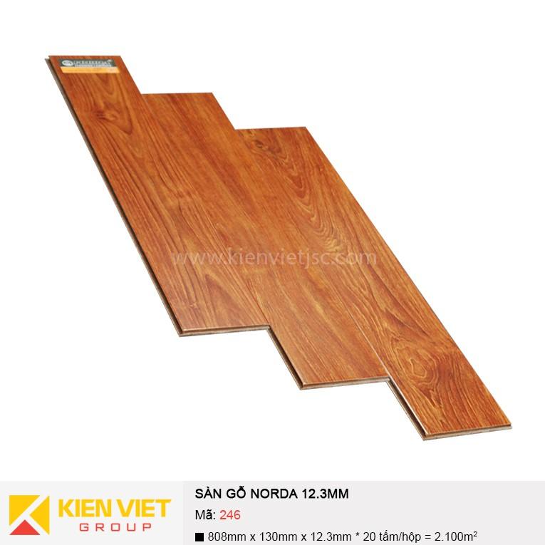 Sàn gỗ công nghiệp NORDA 246 | 12.3mm