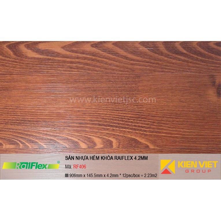 Sàn nhựa hèm khóa Raiflex RF406 | 4.2mm