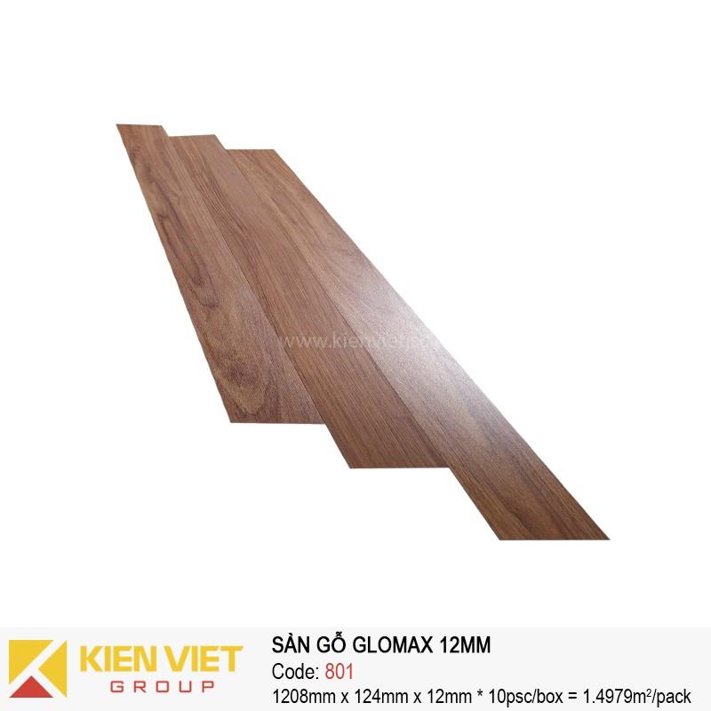 Sàn gỗ công nghiệp thanh lý Glomax 801 | 12mm