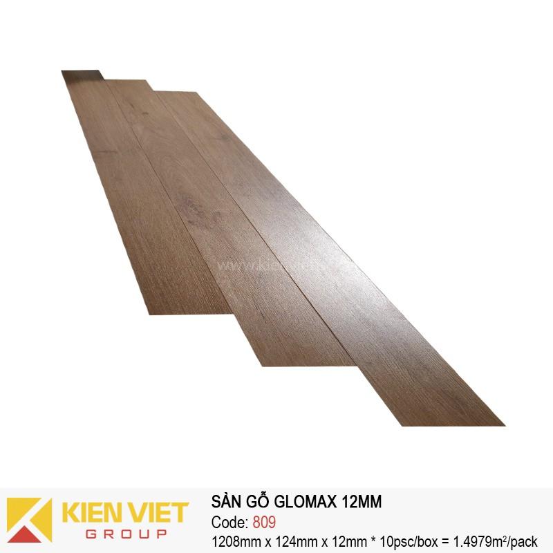 Sàn gỗ công nghiệp thanh lý Glomax 809 | 12mm
