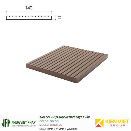 Sàn gỗ ban công thanh đa năng Việt Pháp TDN05-GI | 11x140mm