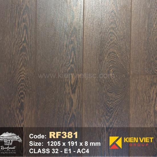Sàn gỗ Rainforest RF381 AC4 | 8mm