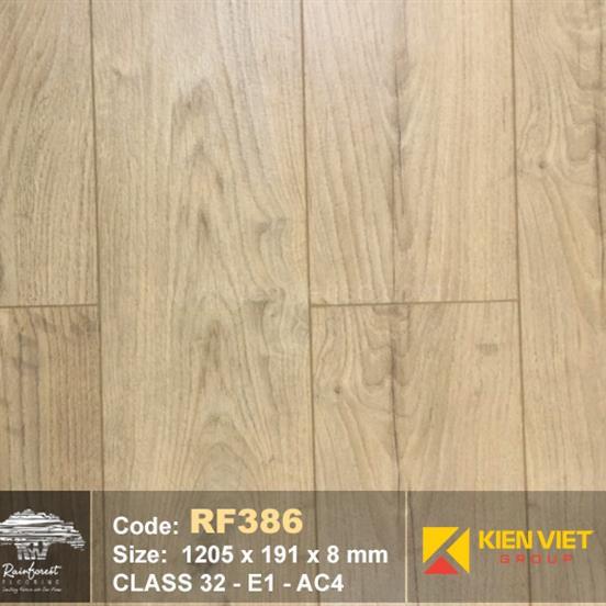 Sàn gỗ Rainforest RF386 AC4 | 8mm
