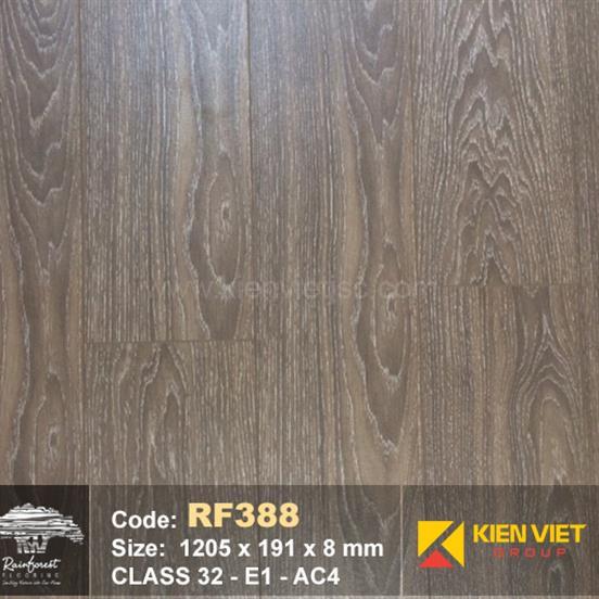 Sàn gỗ Rainforest RF388 AC4 | 8mm