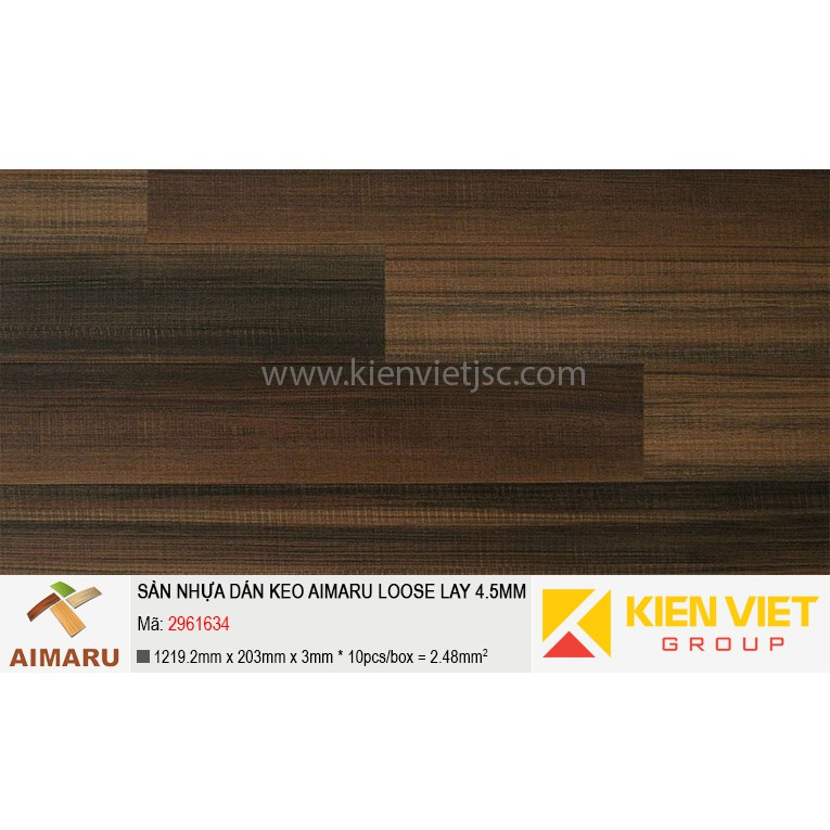 Sàn nhựa dán keo Aimaru Loose Lay 2961634 | 4.5mm