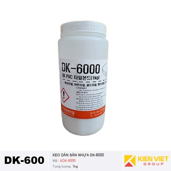 Keo dán sàn nhựa DK6000 - 1kg