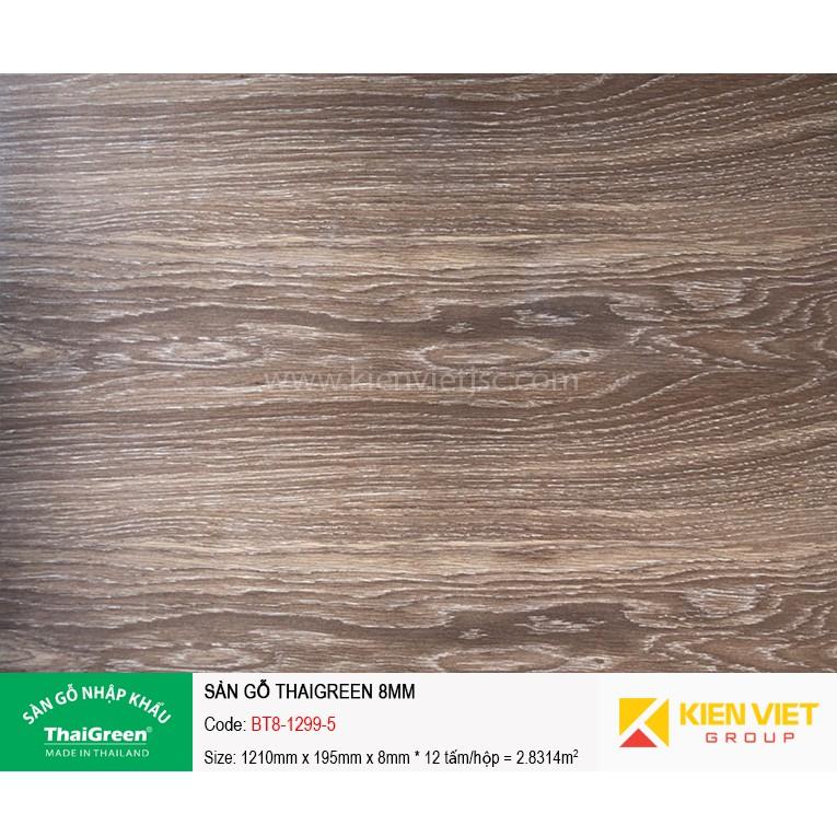 Sàn gỗ công nghiệp Thaigreen BT8-1299-5 | 8mm