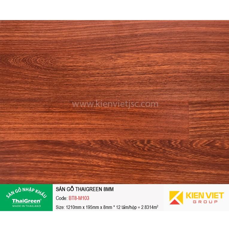Sàn gỗ công nghiệp Thaigreen BT8-M103 | 8mm