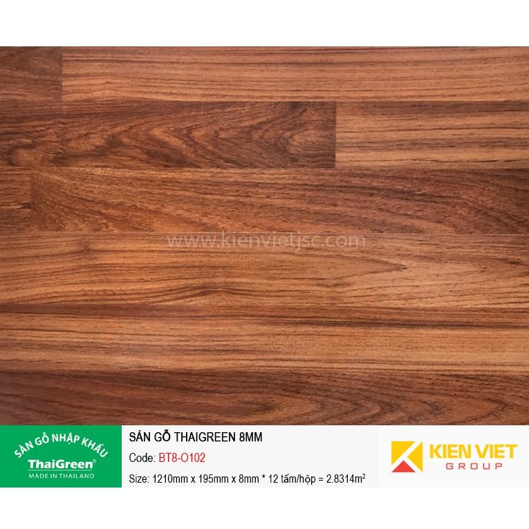 Sàn gỗ công nghiệp Thaigreen BT8-O102 | 8mm