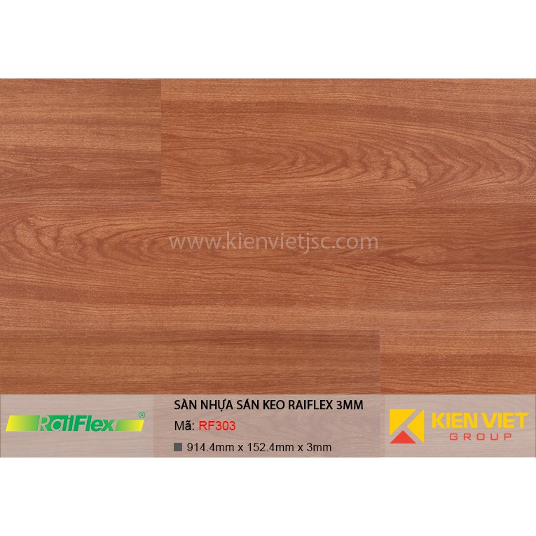 Sàn nhựa dán keo Raiflex RF303 | 3mm