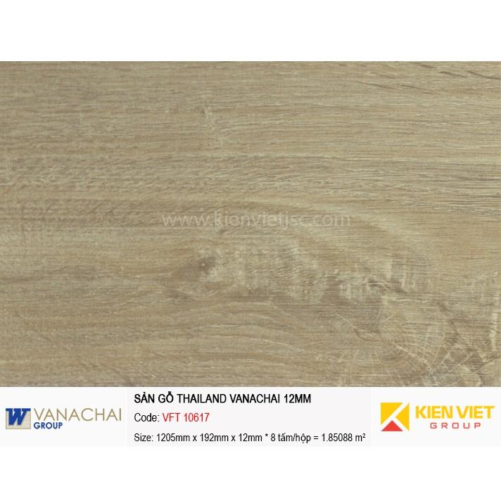 Sàn gỗ công nghiệp Vanachai VFT 10617 | 12mm