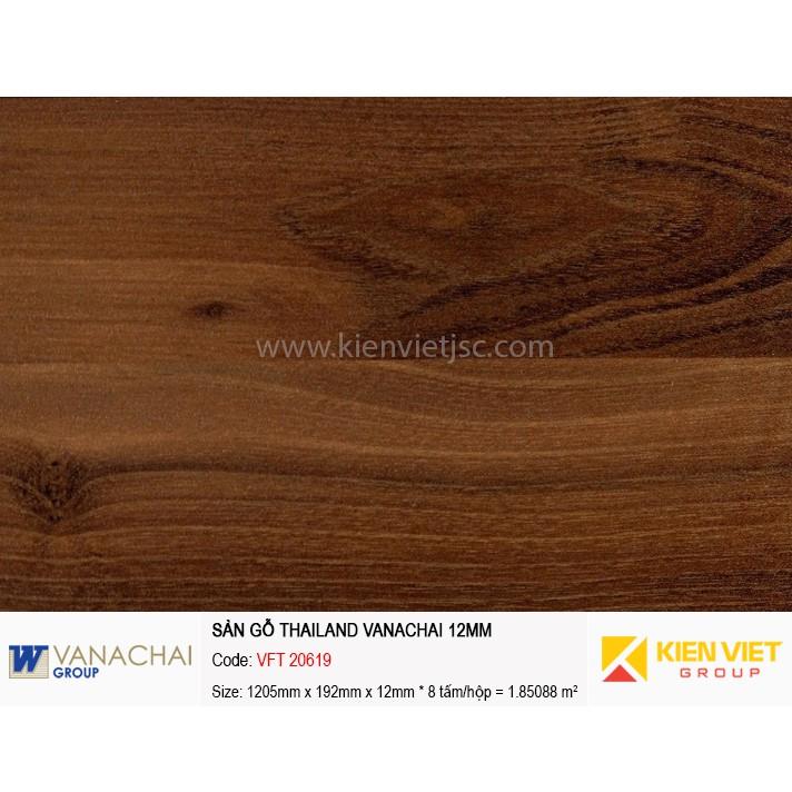 Sàn gỗ công nghiệp Vanachai VFT 20619 | 12mm