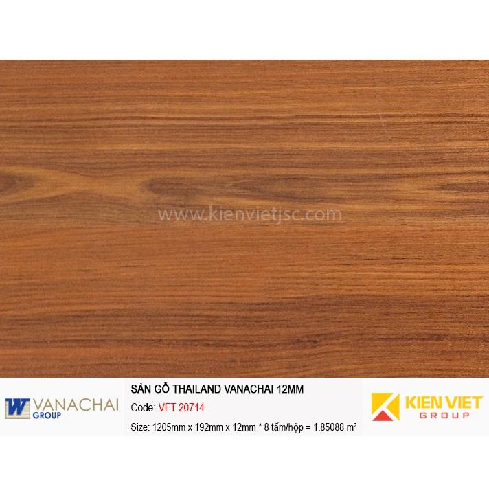 Sàn gỗ công nghiệp Vanachai VFT 20714 | 12mm