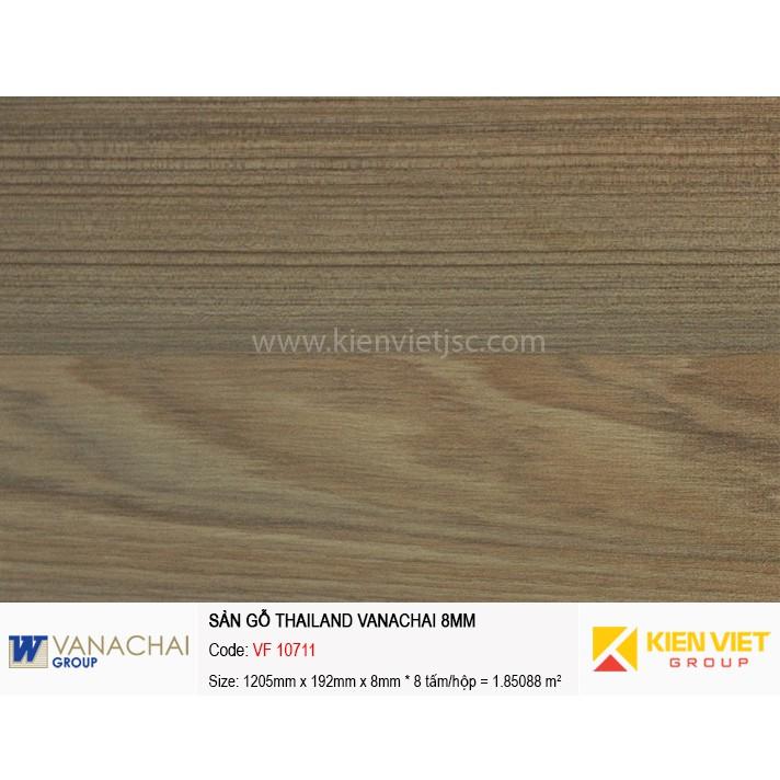 Sàn gỗ công nghiệp Vanachai VF 10711 | 8mm