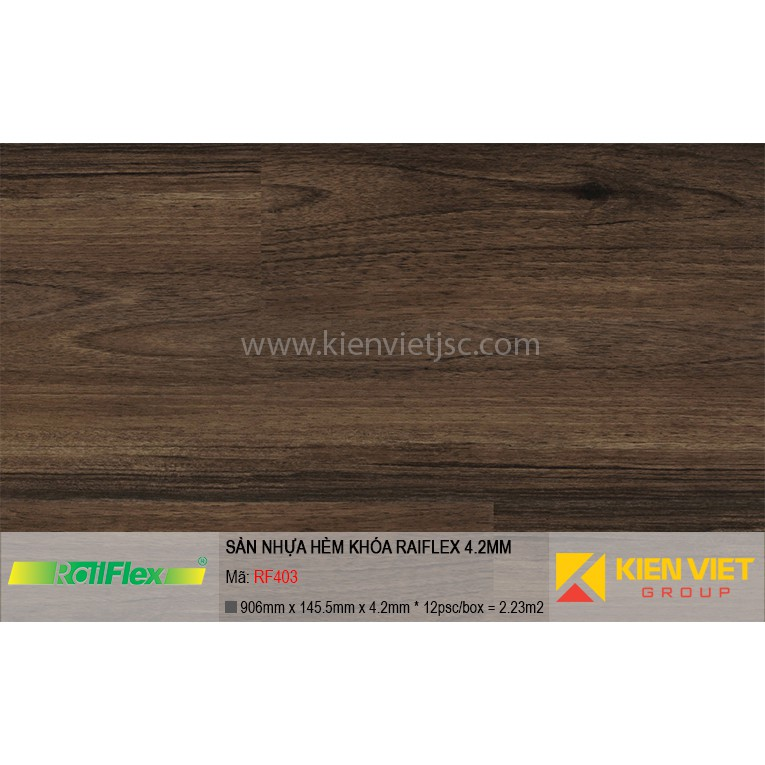 Sàn nhựa hèm khóa Raiflex RF403 | 4.2mm