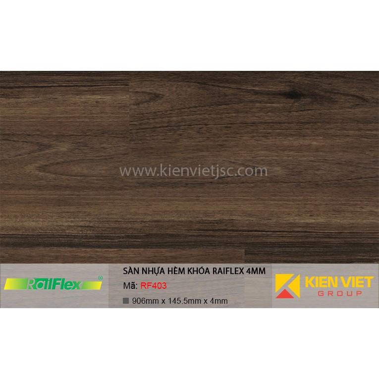 Sàn nhựa hèm khóa Raiflex RF403 | 4mm