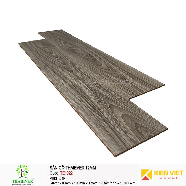 Sàn gỗ công nghiệp Thaiever TE1922 Viridi Oak | 12mm
