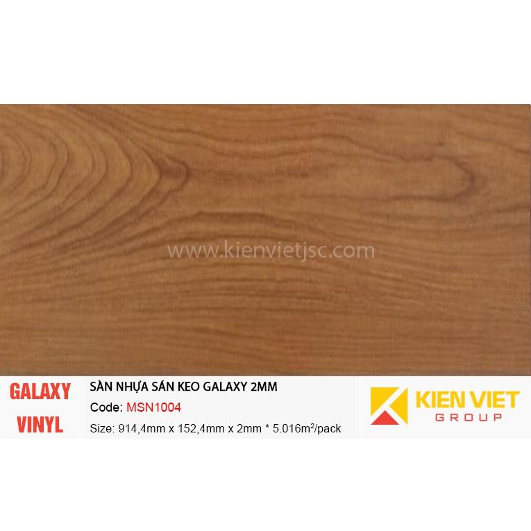 Sàn nhựa dán keo Galaxy MSN1004 | 2mm