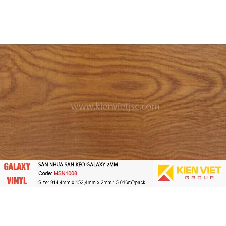 Sàn nhựa dán keo Galaxy MSN1008 | 2mm