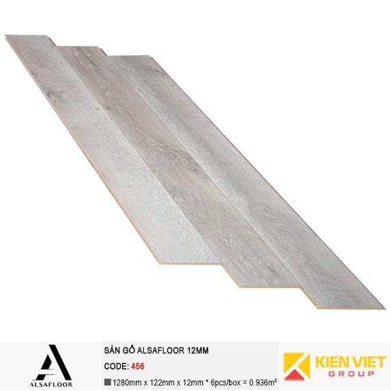Sàn gỗ công nghiệp Alsafloor 456 | 12mm