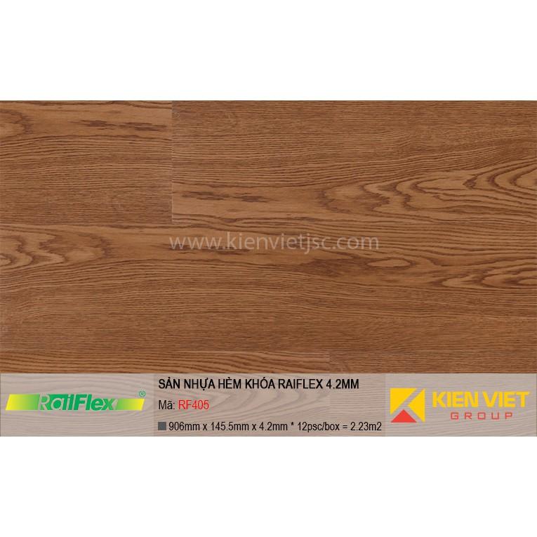 Sàn nhựa hèm khóa Raiflex RF405 | 4.2mm