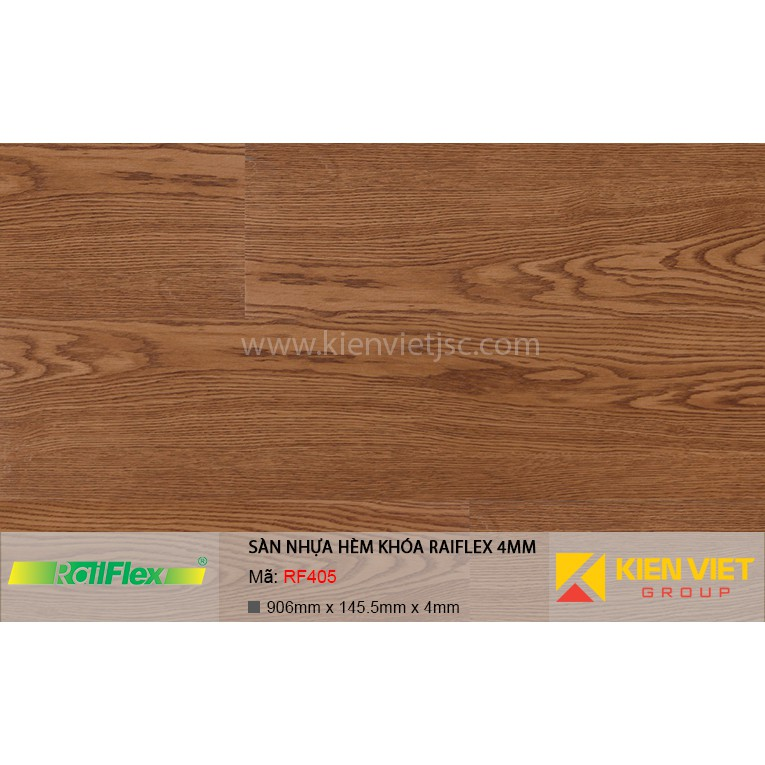 Sàn nhựa hèm khóa Raiflex RF405 | 4mm