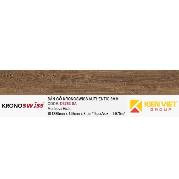 Sàn gỗ Kronoswiss Authentic D3783SA Montreux Eiche   8mm