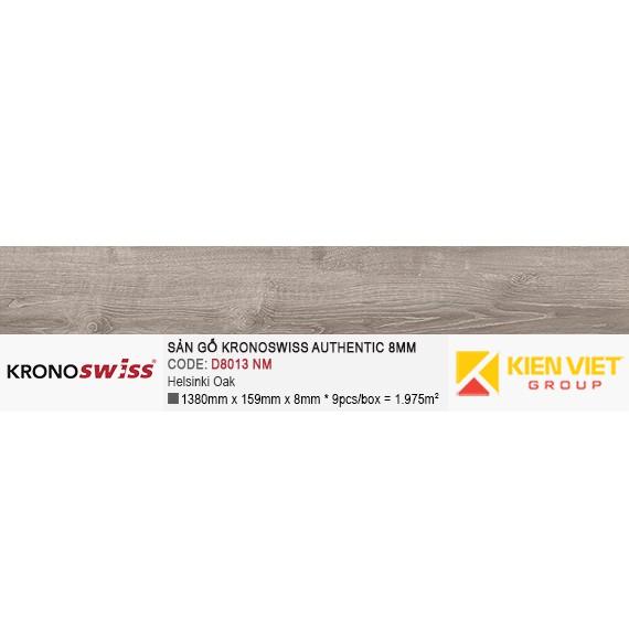 Sàn gỗ Kronoswiss Authentic D8013NM Helsinki Oak   8mm