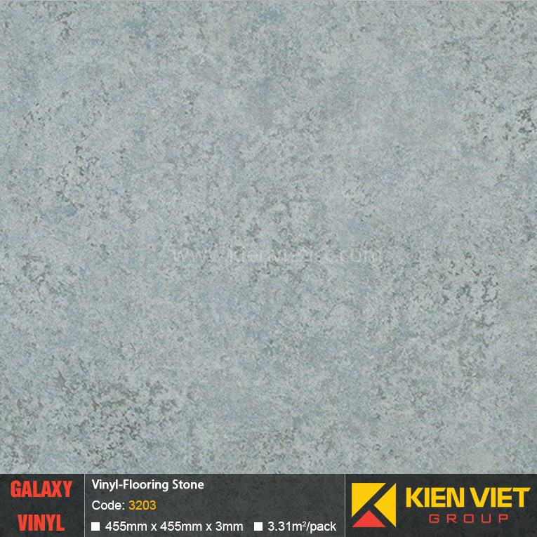 Sàn nhựa dán keo Galaxy vân đá 3203 | 3mm