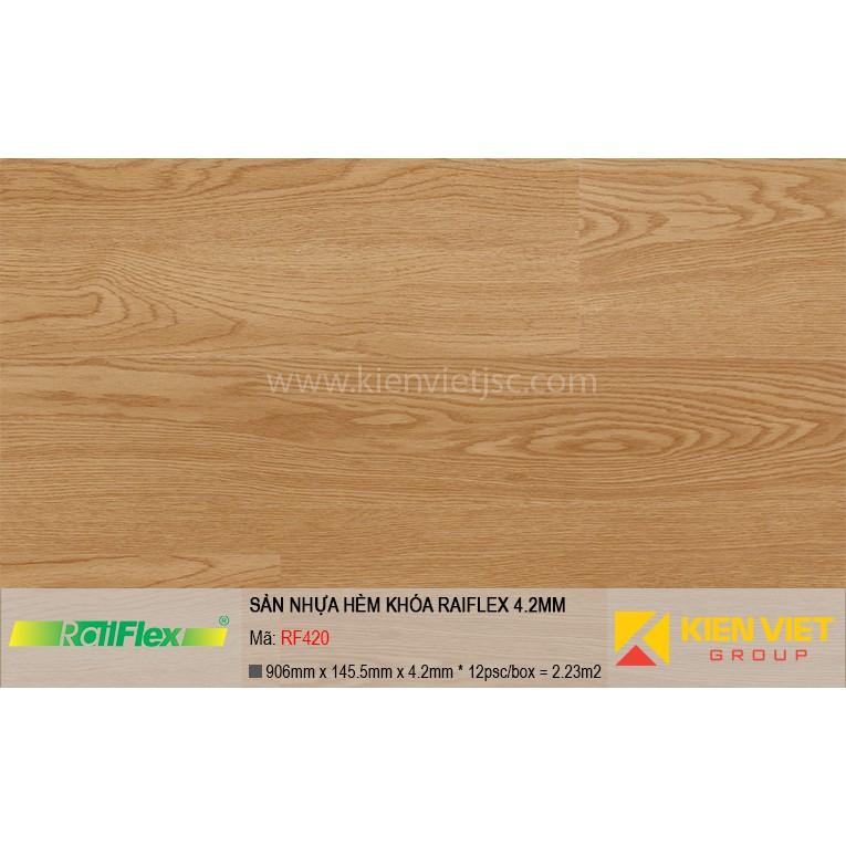 Sàn nhựa hèm khóa Raiflex RF420 | 4.2mm