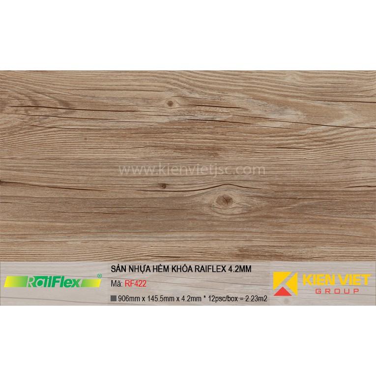 Sàn nhựa hèm khóa Raiflex RF422 | 4.2mm