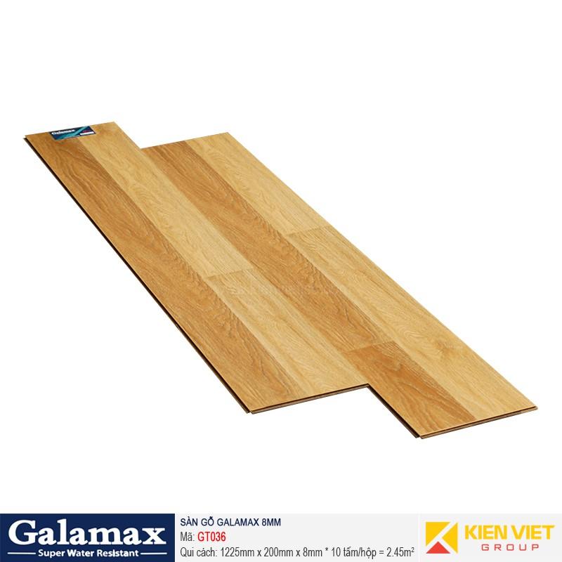 Sàn gỗ công nghiệp Galamax GT036 | 8mm