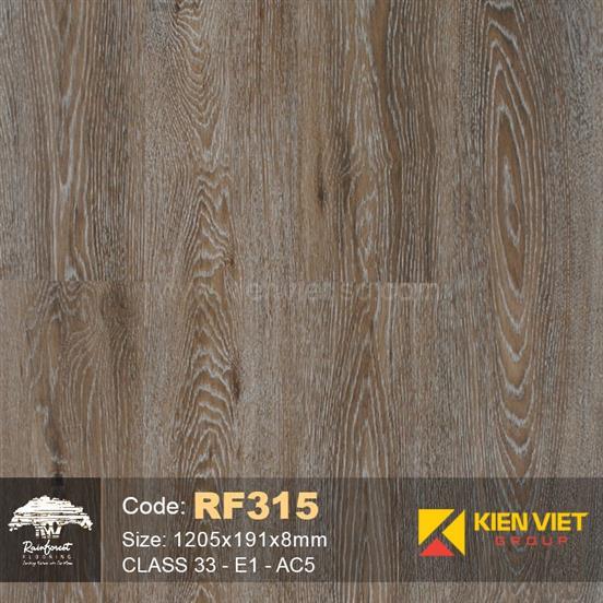 Sàn gỗ Rainforest RF315 AC5 | 8mm