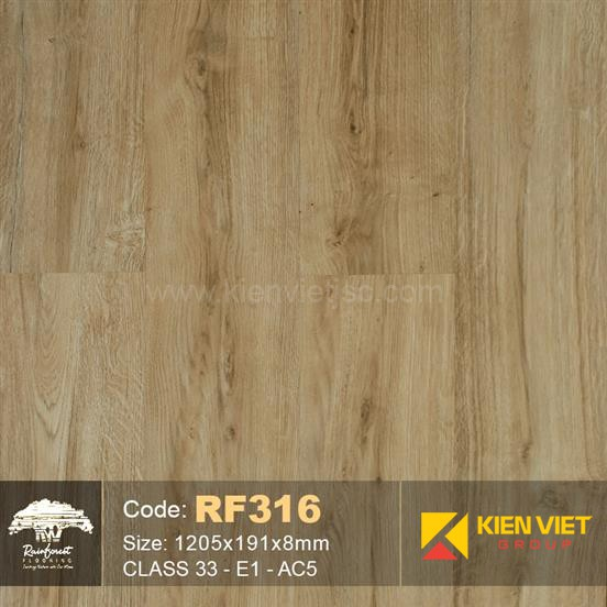 Sàn gỗ Rainforest RF316 AC5 | 8mm