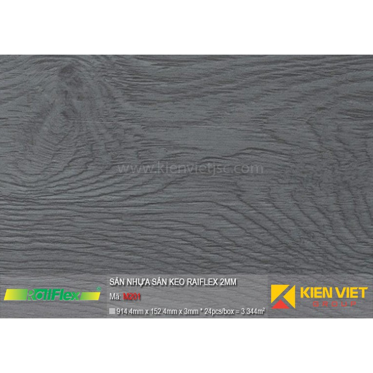 Sàn nhựa dán keo Raiflex M201 | 2mm