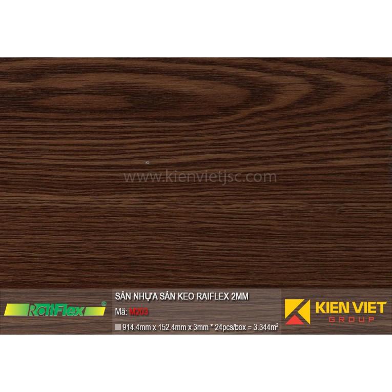 Sàn nhựa dán keo Raiflex M203 | 2mm