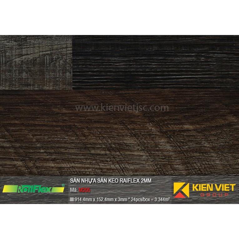 Sàn nhựa dán keo Raiflex M205 | 2mm