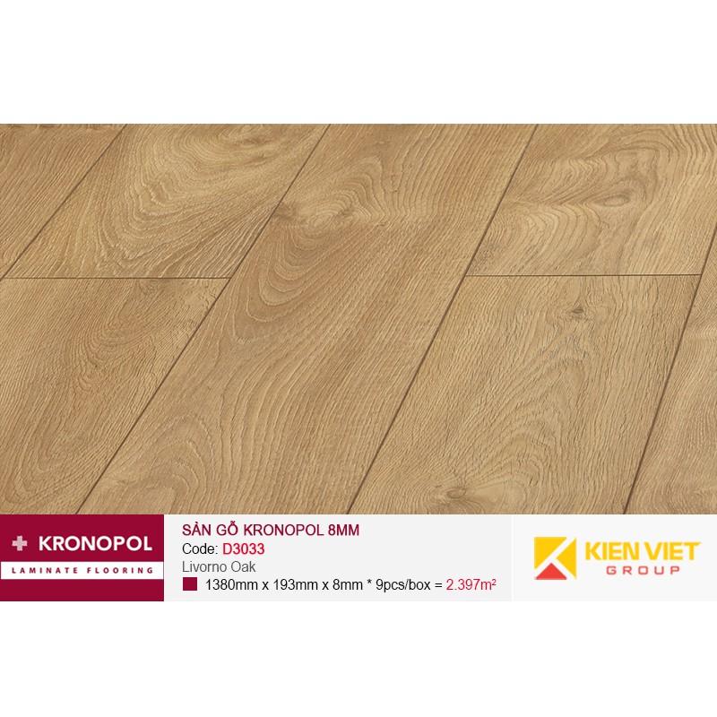 Sàn gỗ Kronopol D3033 Livorno Oak | 8mm