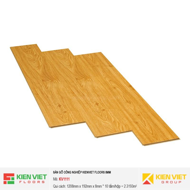 Sàn gỗ Kienviet Floor KV1111 | 8mm