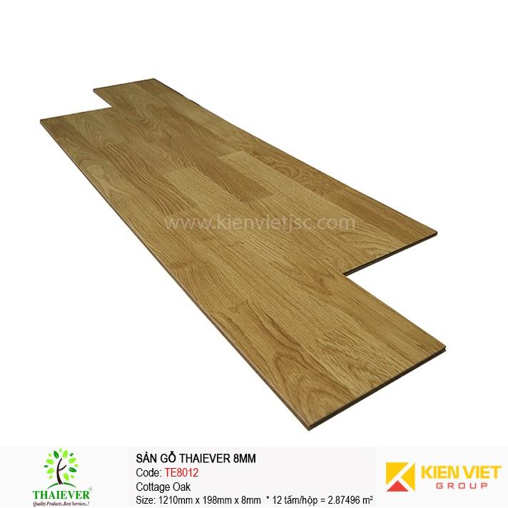 Sàn gỗ công nghiệp Thaiever TE8012 Cottage Oak | 8mm