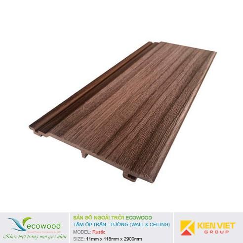 Tấm ốp tường trần EcoWood Rustic | 11x118mm