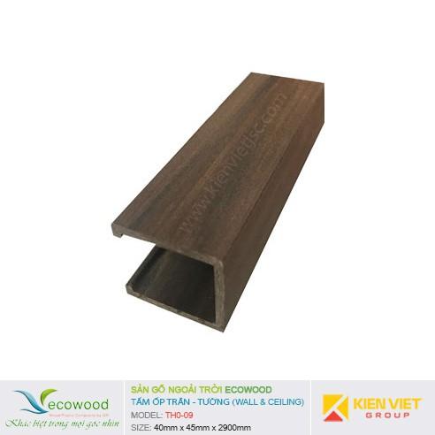 Tấm ốp tường trần EcoWood THO-09 | 40x45mm