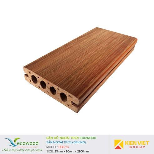 Sàn gỗ ngoài trời EcoWood DBO-13   25x90mm