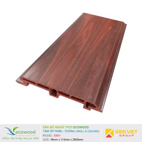 Tấm ốp tường trần EcoWood E90V | 16x113mm