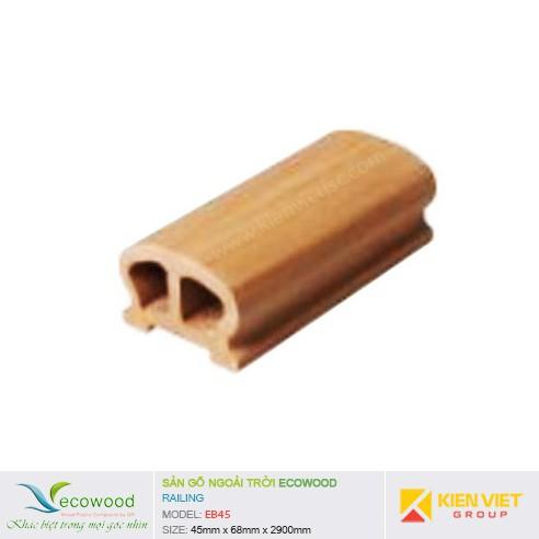 Thanh tay vịn EcoWood EB45   45x68mm