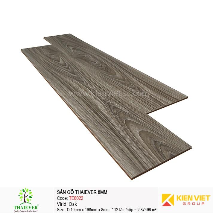 Sàn gỗ công nghiệp Thaiever TE8022 Viridi Oak | 8mm