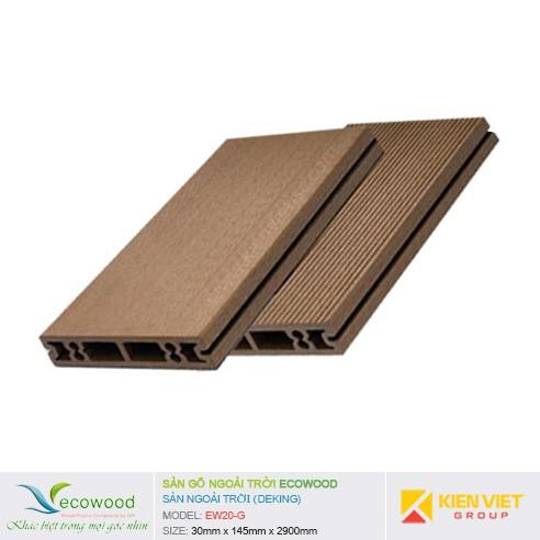 Sàn gỗ ngoài trời EcoWood EW20-G   30x145mm