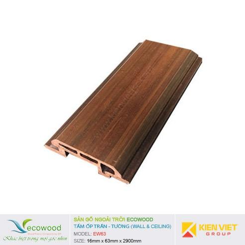 Tấm ốp tường trần EcoWood EW63 | 16x63mm